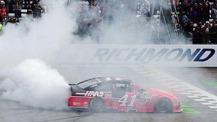Kurt Busch, driver of the #41 Haas Automation Chevrolet,