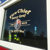 Live: Saying goodbye to Redding Fire Chief Gerry Gray