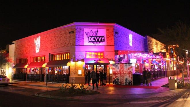 Bevvy's gastropub location in Scottsdale.