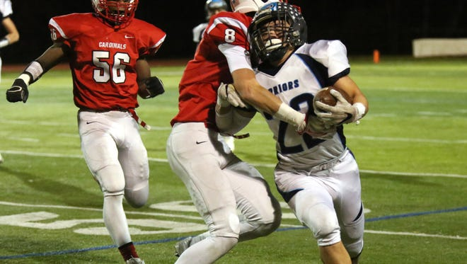 Alessio Cerrito was part of a thunderous running game for Waldwick/Midland Park.
