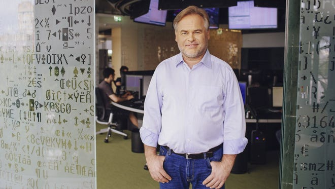 Eugene Kaspersky, the Russian-born founder of Kaspersky Lab, the world's largest privately-held cyber-security firm.