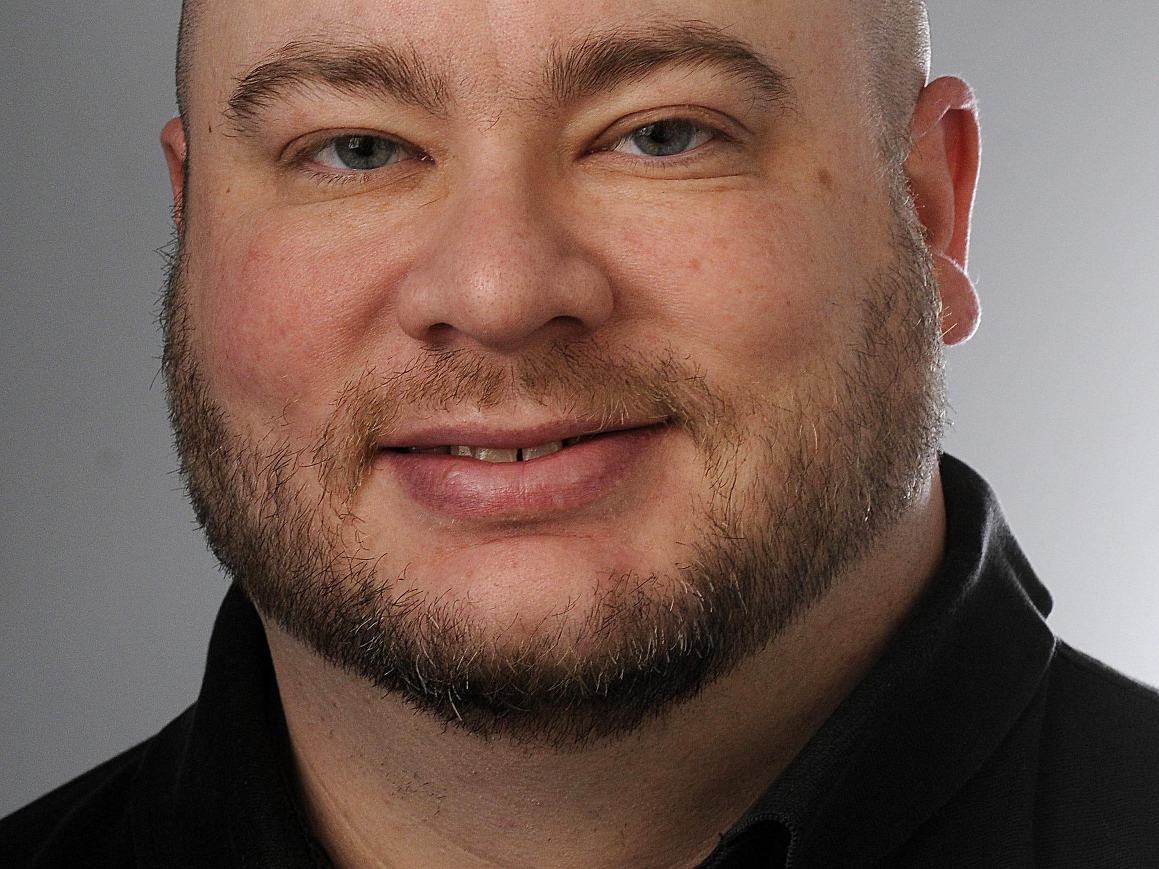 Chris SolariChris Solari. LSJ employee. Photo taken 1/4/2011 by Greg DeRuiter/LSJ.