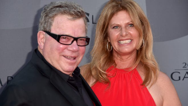 Actor William Shatner (L) and Elizabeth Shatner attend The Los Angeles Philharmonic 2015/2016 Season Opening Night Gala at the Walt Disney Concert Hall on September 29, 2015 in Los Angeles, California.