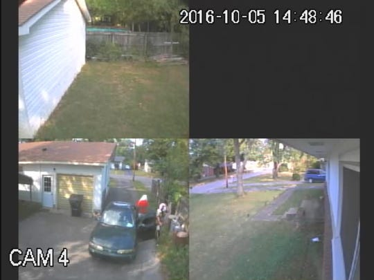 Suspects in a home burglary on Oct. 5 were caught on security camera. Call Crime Stoppers at 615-893-STOP (7867) with information.