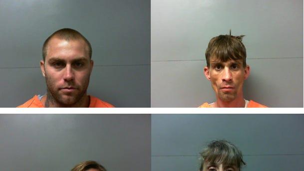 Clockwise: Justin Massey, Dennis L. Beebe, Lake A. McCullar and Sylvia Keeth.