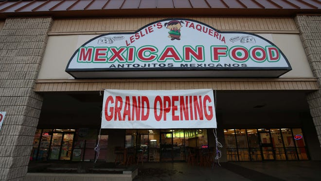 Leslie's Mexican in Springfield.