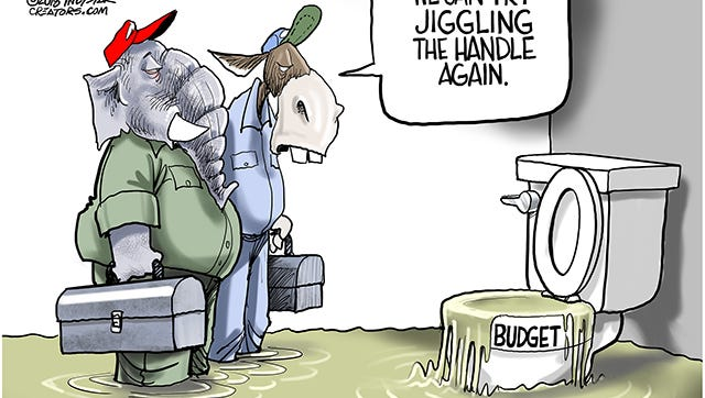 Congress needs to pass a budget. Unfortunately neither party has had a clue on how to cut spending, waste, fraud and abuse over the last two decades.