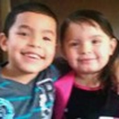 Both children are Hispanic and were last seen in pajamas.