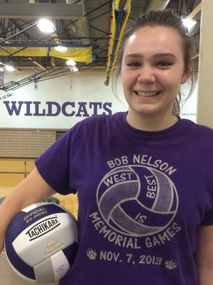 Green Bay West senior Hannah Bopray ranks second in her class with a 3.97 GPA.