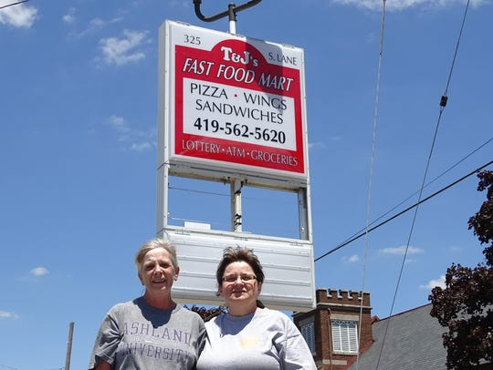 Cathy Usher, left, and Tami Musser are excited to bring