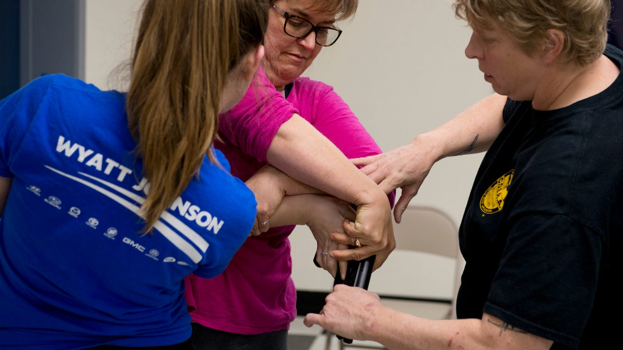 Denise Shelton, instructor of C.O.B.R.A. Self-Defense Tennessee, talks about the benefits and importance of the class and what attendees learn.