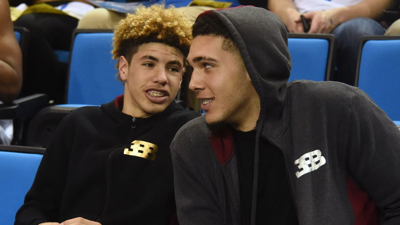 SportsPulse: Trysta Krick discusses what's in store for LiAngelo and LaMelo Ball once they arrive in Lithuania.