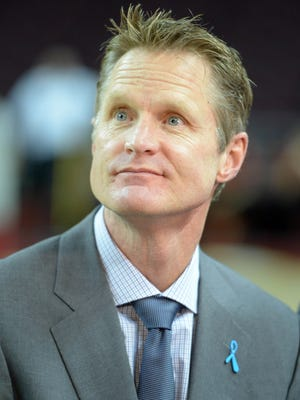Steve Kerr has spent the past few seasons as a broadcaster.