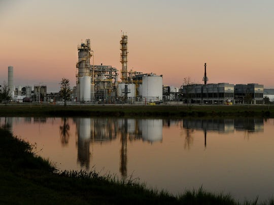 INEOS Bio's Indian River BioEnergy Center, seen Jan.