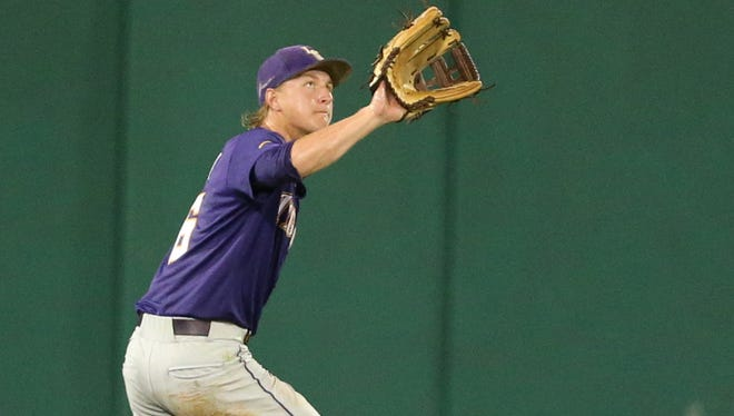 LSU outfielder Andrew Stevenson (6) and the Tigers will have a very early start to the SEC tournament.