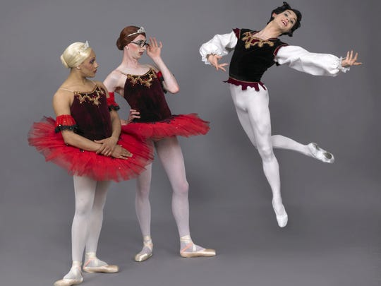 Les Ballets Trockadero de Monte Carlo entertains at the Flynn Center on March 31.