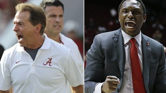 Athlon Sports lists Nick Saban and Avery Johnson as