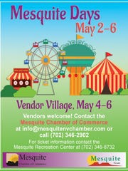 2018 Mesquite Days vendor flyer
