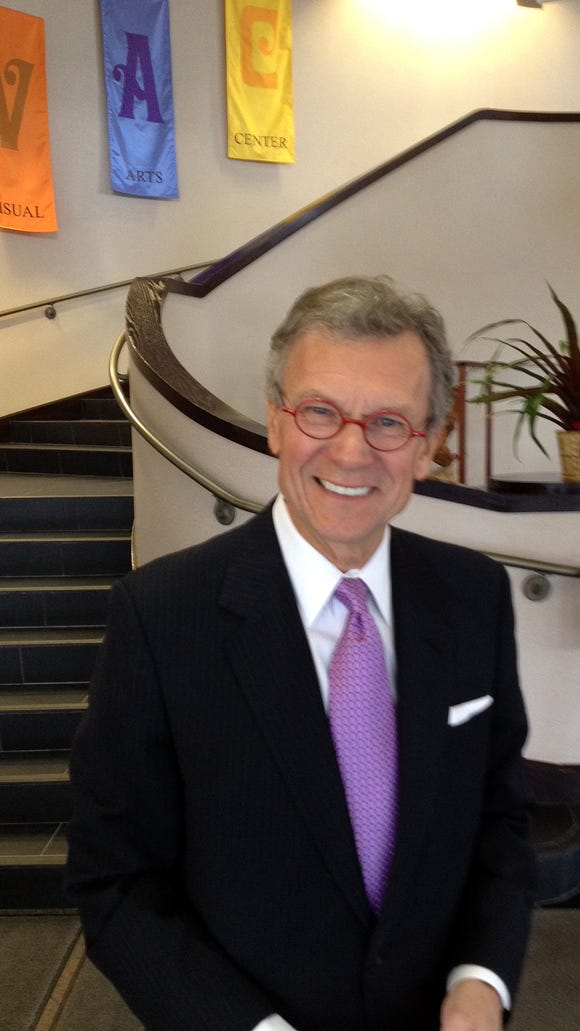 Former Sen. Tom Daschle at George McGovern's funeral service.