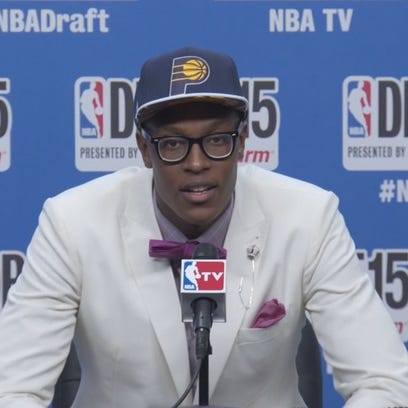 Myles Turner drafted by Indiana