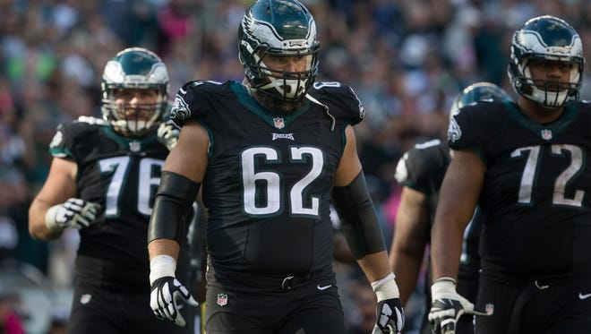 Philadelphia Eagles center and University of Cincinnati alumnus Jason Kelce, 62, has some fans on the Bengals' staff.