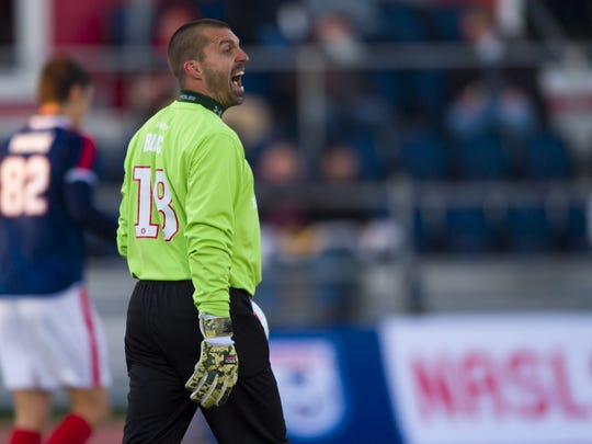 Veteran goalkeeper Jon Busch is one of 12 newcomers to Indy Eleven this season.