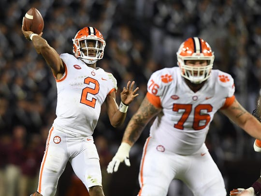 No 2 Clemson Cruises Past No 12 Virginia Tech