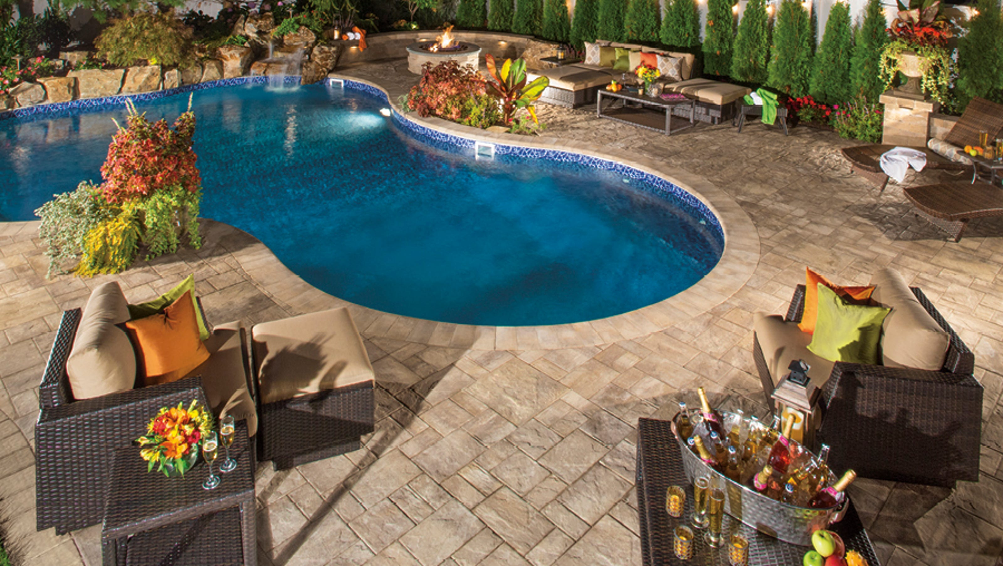Create A Pool Getaway In Your Own Backyard
