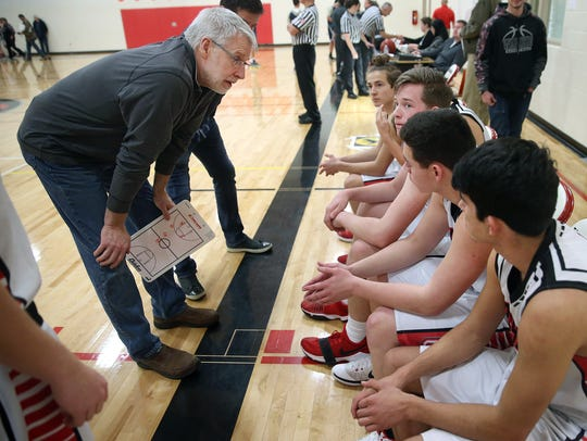 Crosspoint Academy coach Rick Walker says the soccer experience of seven members of his basketball team benefits the group.