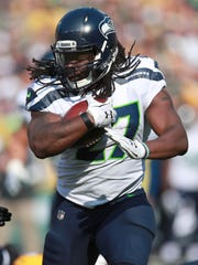 Eddie Lacy has five carries for just three yards this year and was inactive for the Seahawks' home opener against the 49ers.