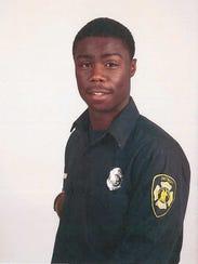 Detroit firefighter Desmond Orr