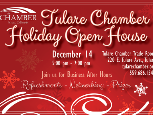 tulare chamber open house