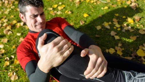The Injury Zone by Russ Manalastas, phD. (Knee sport injury)