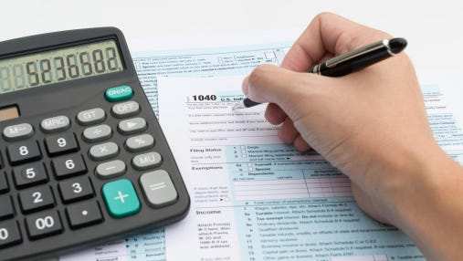More Americans are filing from home instead of turning to tax professionals to prepare and file for them.