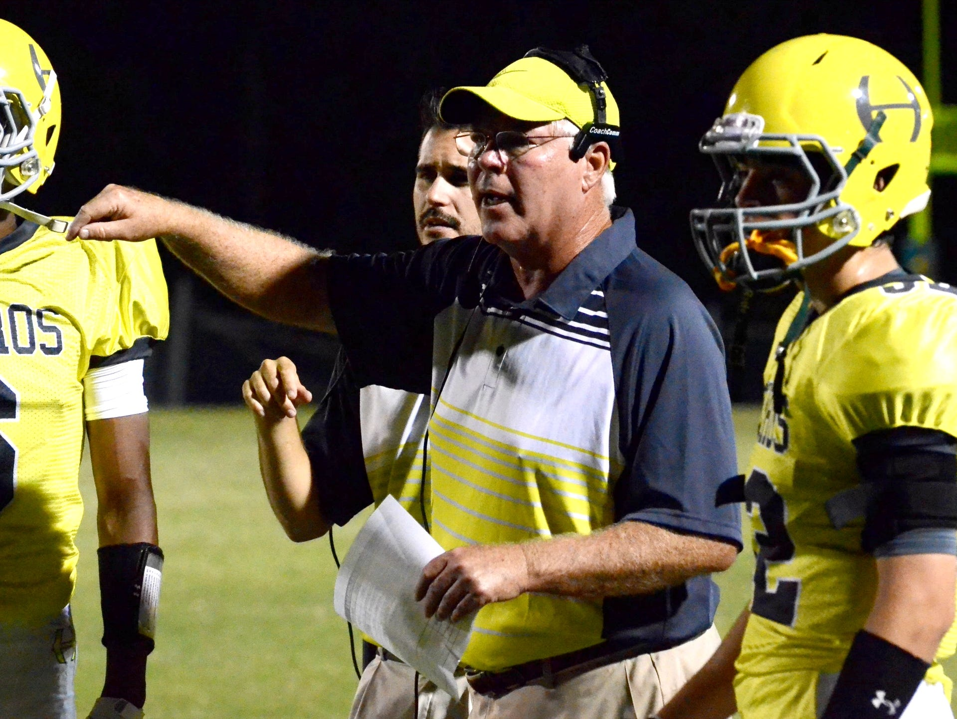 Hillsboro coach Craig Clayton
