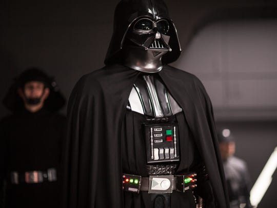 Darth Vader looms large again as a big-screen presence