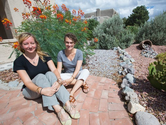 Jenny Jahn, left, and Chelsea Jahn, right, founding practitioners at Red Tent Midwives in Las Cruces.
