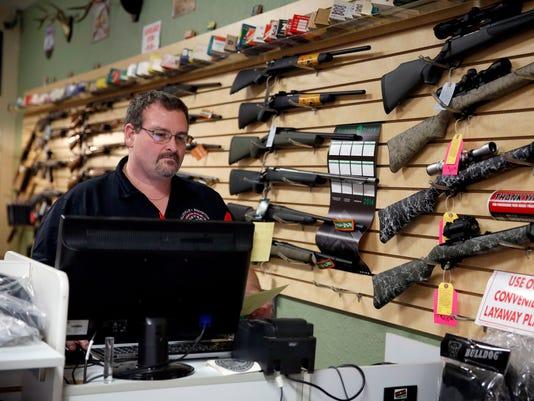 Gun sales near St. Louis