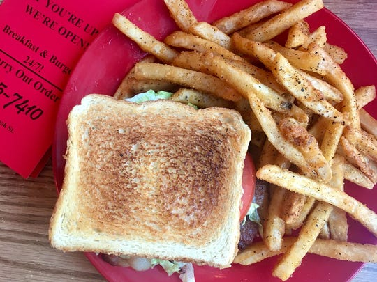 The french fries at Burger Boy, 1450 S Brooks St. in