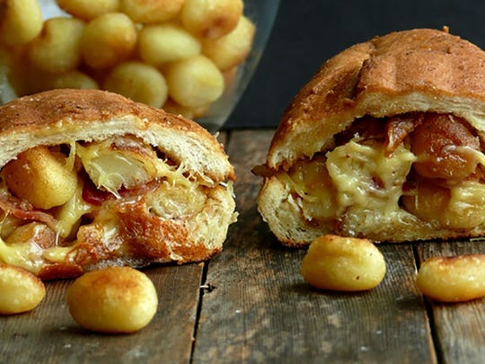 Gnocchi Bacon Grilled Cheese