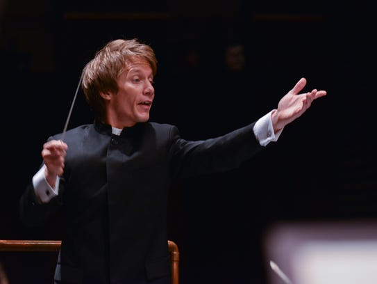 North State Symphony conductor Scott Seaton.