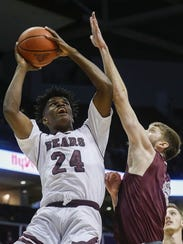 Missouri State senior Alize Johnson had 24 points and