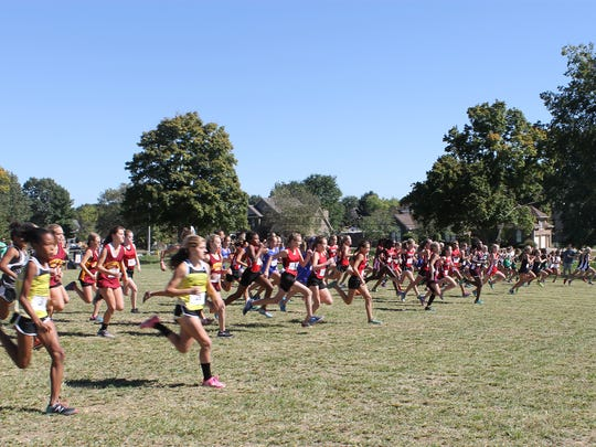 Girls taking off in last years Cross Country's State