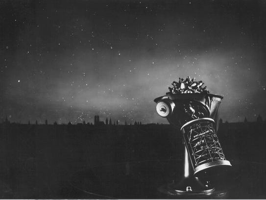 The first planetarium projector, developed by Germany's