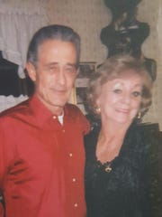 Richard Maloney (left) with his late wife Nancy.