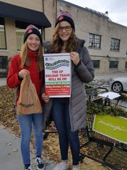 The holiday train started to stop in Wauwatosa thanks to Girl Scouts Madison Sveum and Michela Miller. The two sixth graders saw the holiday train and wondering why it couldn't stop here. Now freshmen in high school, they are continuing to support the community.