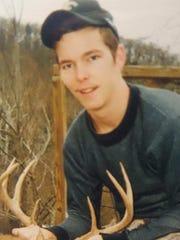 Jordan Hampton, Waynesboro, died from an overdose on Nov. 26, 2015 at age 24.