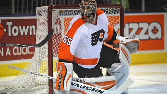 The Flyers recalled Anthony Stolarz Tuesday morning