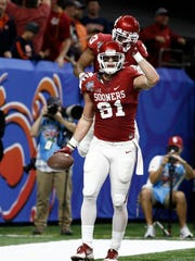 Oklahoma Sooners' Mark Andrews (81) went to Scottsdale Desert Mountain High.