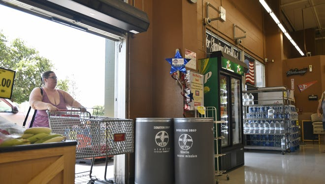 """Visalia Grocery Outlet hopes to raise $15,000 in donations for Visalia Rescue Mission with the """"Independence from Hunger"""" campaign this month."""